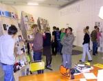 Visitors PrintROOM @ Printing Matters (image: Bob Goedewagen)