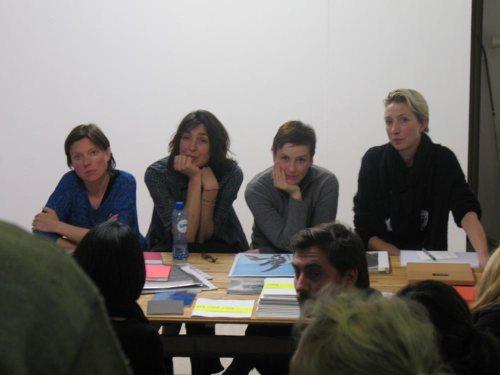 Elisabeth Tonnard, Mariken Wessels, Delphine Bedel, Erica Overmeer