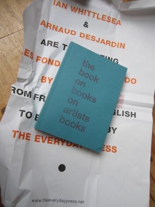 the book on books on artists books by Arnaud Desjardin